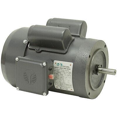 3//4 HP  1800 RPM  115//230 VOLT AC  56C  TEFC  LEESON MOTOR  10-2705