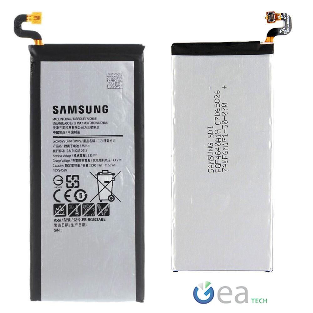Samsung Batteria Originale 3000mah per Galaxy S6 EDGE Plus + SM-G928 EB-BG928AB