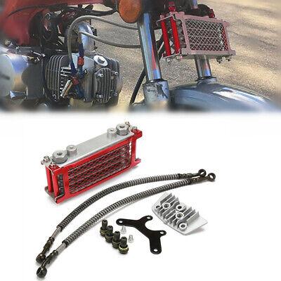 50 70 90 110CC Dirt Pit Bike Horizontal Engine Cooling Radiator System Aluminum