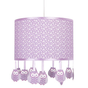 Lilac ceiling light shade