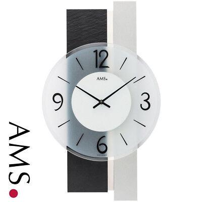 Ams 48 Reloj de Pared Cuarzo para Salón Oficina la Sala Trabajo...