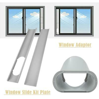 2pcs Window Slide Kit Plate / 6'' Window Adaptor For Portabl