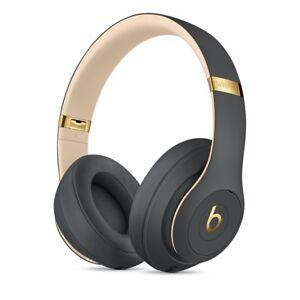 BRAND NEW Beats by Dre Studio 3 2018 WIRELESS BLUETOOTH HEADPHONES SHADOW GREY