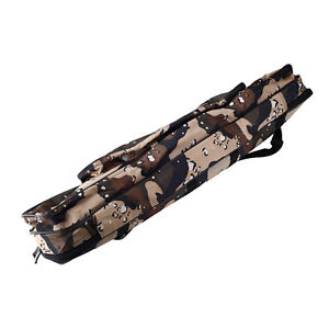 Rod fishing bag two layer case storage organizer holder for Fishing backpack with rod holder