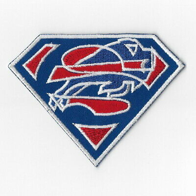 Buffalo Bills [T] Iron on Patches Embroidered Badge Patch Applique Sew Emblem FN for sale  Shipping to Canada