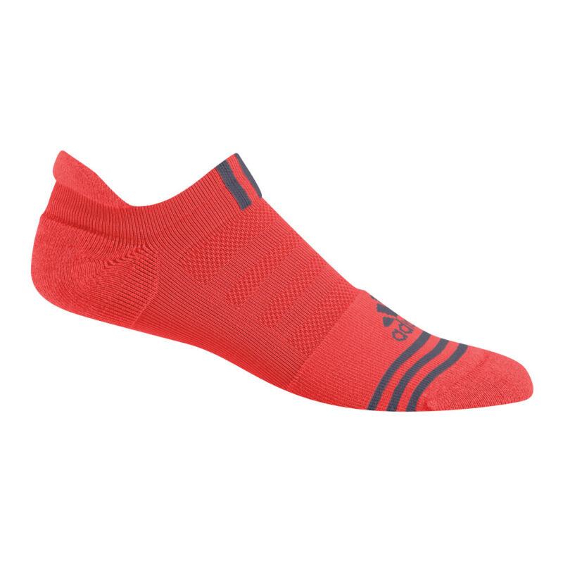 Adidas Performance No-Show Socks Hi-Res Red 7-10.5