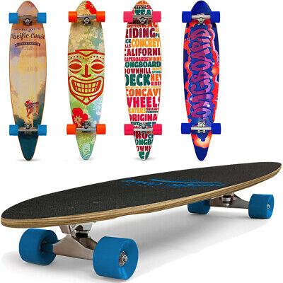 """Longboard Skateboard 44"""" Skate Board Complete ABEC 7 Deck Surfboard Pintail Kick"""
