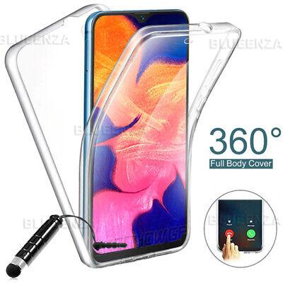 FULL COVER 360° Gel Silicone Case For Samsung Galaxy A10 A20e A40 A70 S10e S20