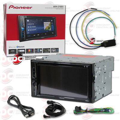 "PIONEER AVH-210EX 6.2"" TOUCHSCREEN DVD CD CAR BLUETOOTH STER"