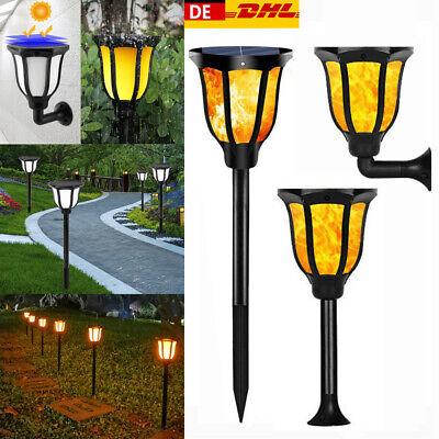 Solarfackel LED Flackernde Landschaft Lamps Tanzen Flamme Garten - Outdoor Landschaft Beleuchtung