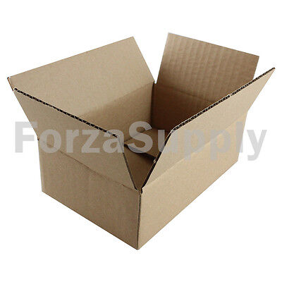 "200 6x4x2 ""EcoSwift"" Brand Cardboard Box Packing Mailing Shipping Corrugated"