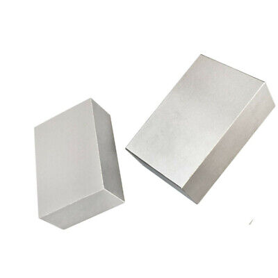 Set of 2 Pieces 1-2-3 Metal Blocks Ultra Precision .0002 Hardened Without Holes