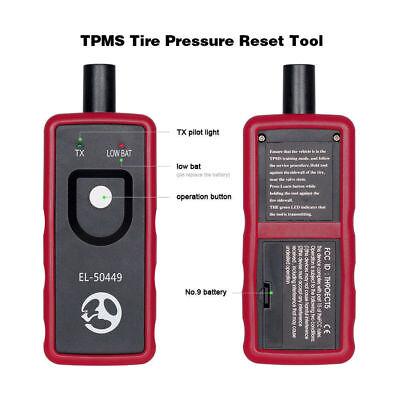 EL-50449 Ford Tire Pressure Monitor Sensor TPMS Reset Activation Tool