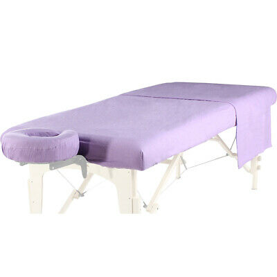 - NEW MASSAGE TABLE DLX BRUSHED FLANNEL 3pc SHEET SET-FITTED, FLAT & FACE COVER -P
