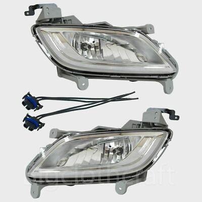 New Genuine OEM Fog Light Lamp LH RH Wiring Set for Hyundai Veloster 11-17