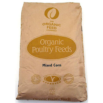 Allen & Page Organic Feed Company Mixed Corn 20kg