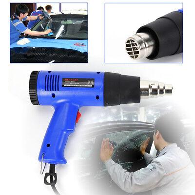 1800w Electric Heat Gun Hot Air Gun Variable Temperature Heater Free Nozzles