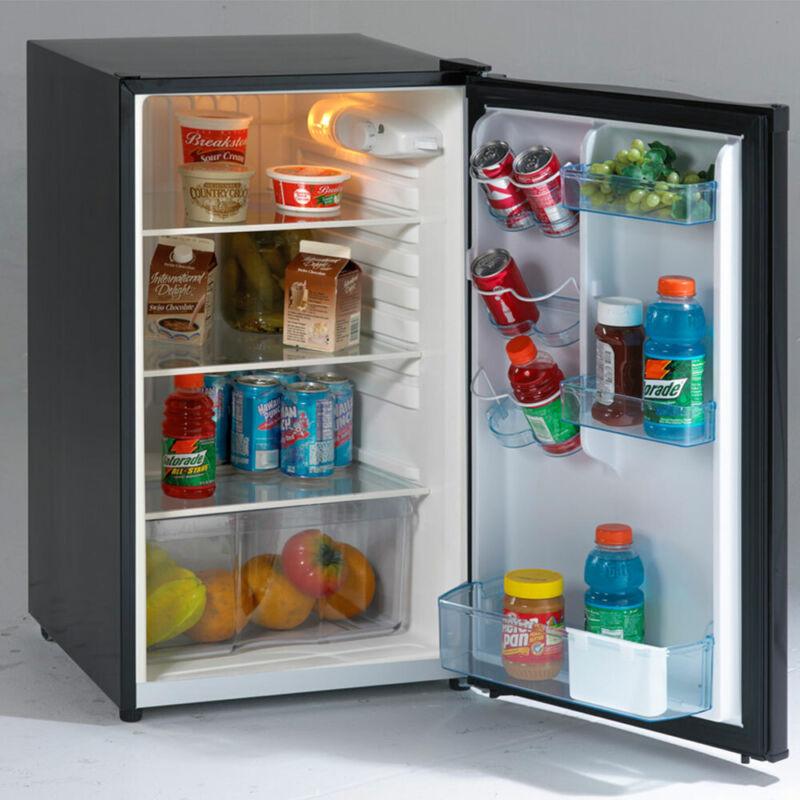 Avanti 4.5 Cu. Ft. Compact Refrigerator Black AR4446B