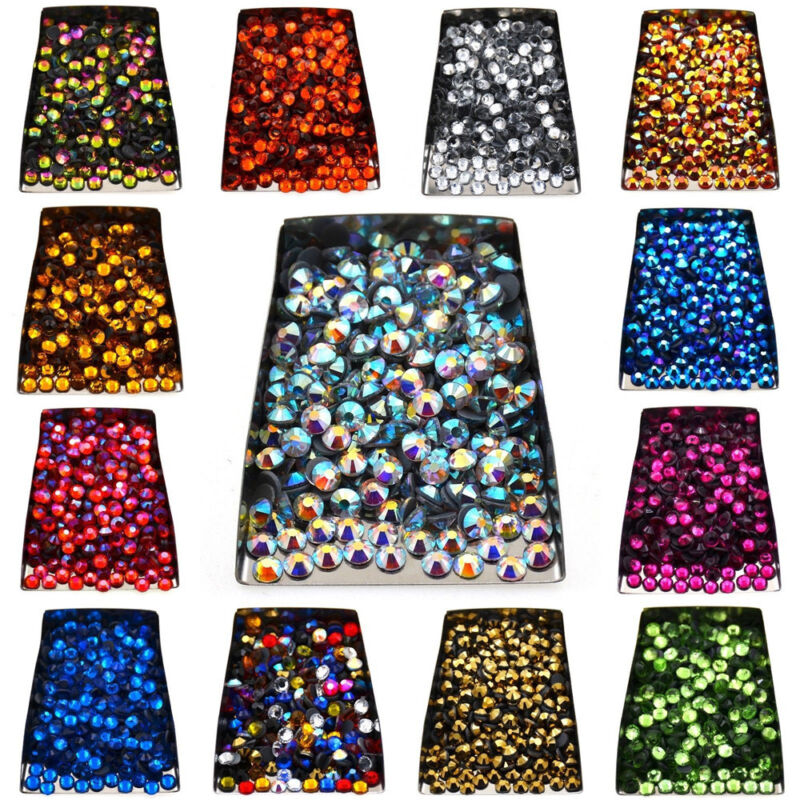 Hot Czech Crystal Rhinestones Top Quality Flatback Dmc Iron Hotfix 1440pcs