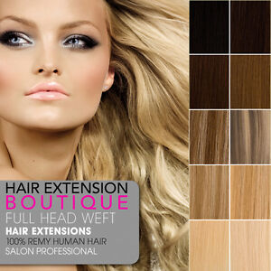 DIY-WEFT-Remy-Human-Hair-Extensions-Full-Head