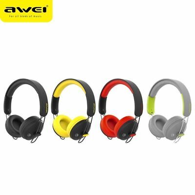 AWEI A800BL Bluetooth Wireless Headse t+ Wired Headphones Stereo Bests