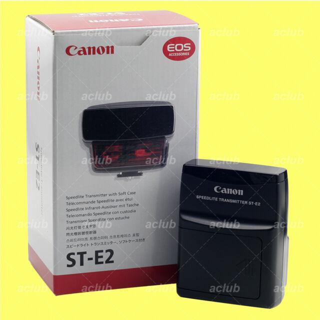 Genuine Canon ST-E2 Speedlite Transmitter 600EX-RT 580EX II 430EX II 320EX 270EX
