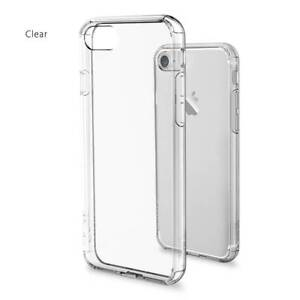 🍎 Shock Proof Clear Hybrid Case - iPhone 6/7/8, Plus , X, XS