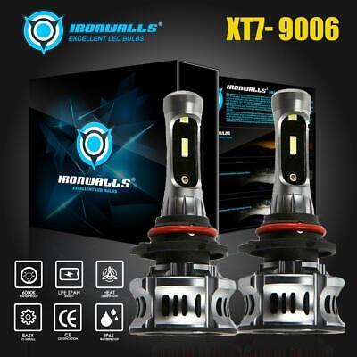 IRONWALLS 9006 HB4 LED Headlight Kits FOG Bulbs Hi/Low Beam 2100W 315000LM 6000K