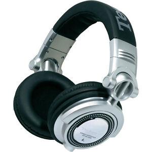 Technics RP-DH 1200 - DJ Headphone / Headphones Silver black new