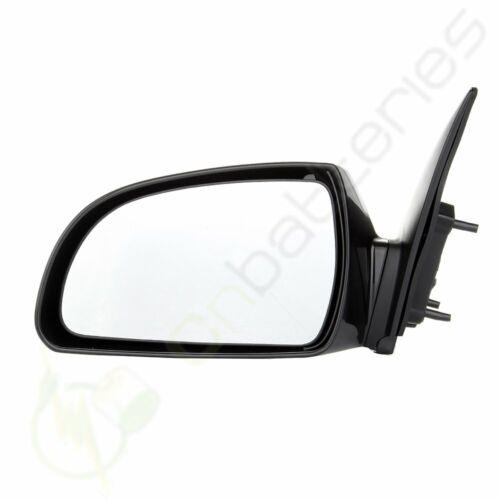 Left Side Driver Side View Black Power Heated Mirror For 2006-10 Hyundai Sonata