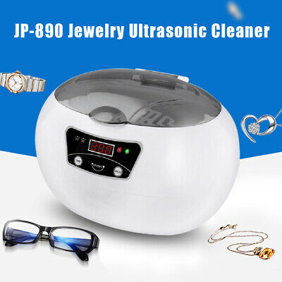 600ml Professional Ultrasonic Jewelry Cleaner Machine For Gold Silver Necklace