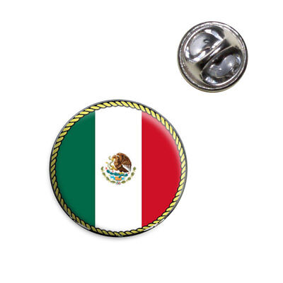 Flag of Mexico Lapel Hat Tie Pin Tack