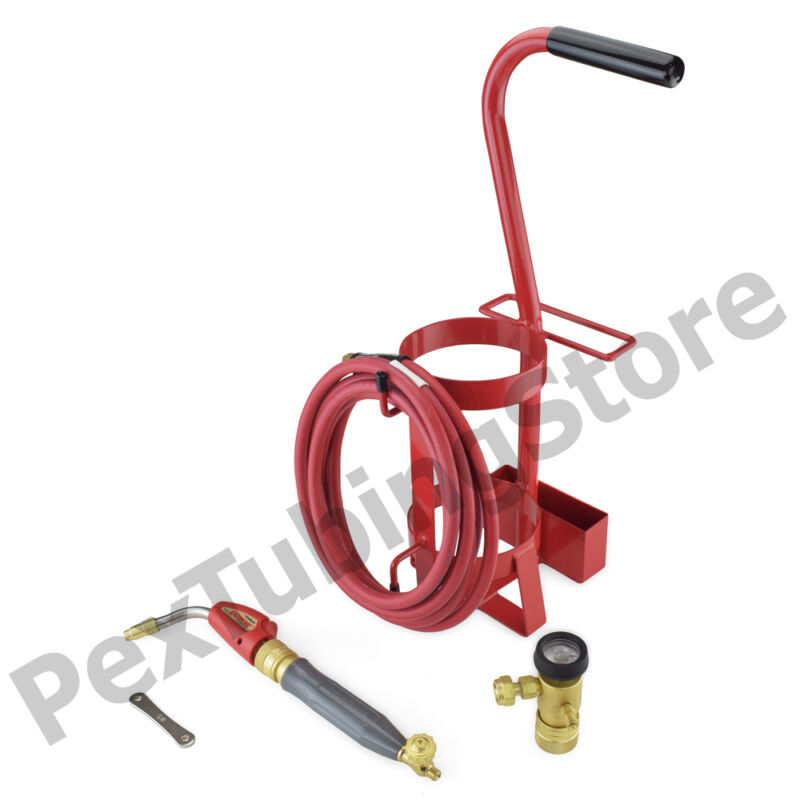 TurboTorch 0426-0011 TDLX 2003MC Torch Swirl Tote Outfit Kit, Air Acetylene