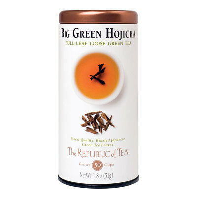 The Republic Of Tea Big Green Hojicha Full-Leaf Tea, 1.8 Ounces / 50-60 Cups ()
