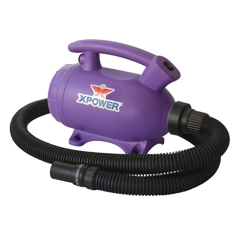 XPOWER B-55 2 Hp Portable Home Pet Grooming Dog Cat Force...