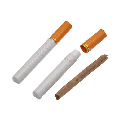 2 X Disguise Cigarette Shape Airtight Smell Proof Herb Case Container Stash Jar