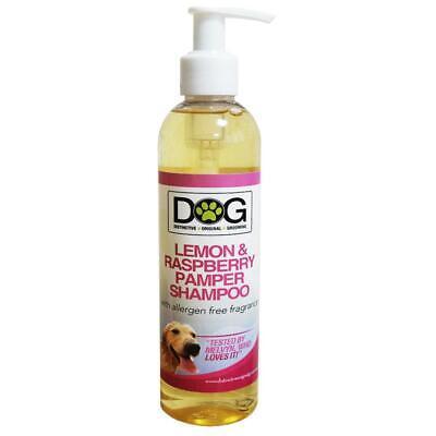 250ml Distinctive Original Grooming Dog Lemon & Raspberry Pamper Shampoo