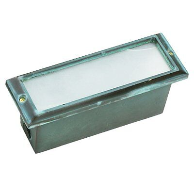Best Quality Lighting Finished Outdoor Step Light w/ Clear Glass Shade