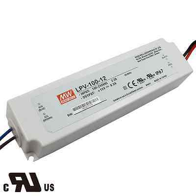 Ul Certicified Mean Well Power Supply Lpv-100-1212v Output Voltage 100 Wattage