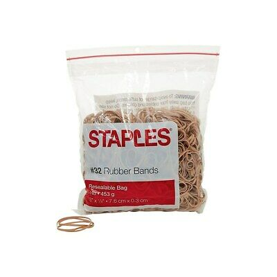 Staples Economy Rubber Bands Size 32 1 Lb. 808618