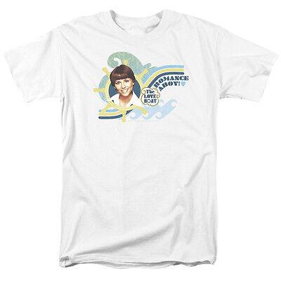 Love Boat Show Julie McCoy Lauren Tewes ROMANCE AHOY T-Shirt All Sizes