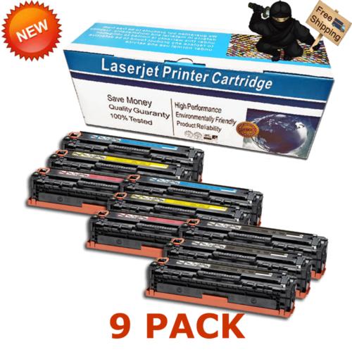 6pk 131 BCMY Color Toner Cartridges for Canon 131 ImageClass LBP7110Cw MF624Cw