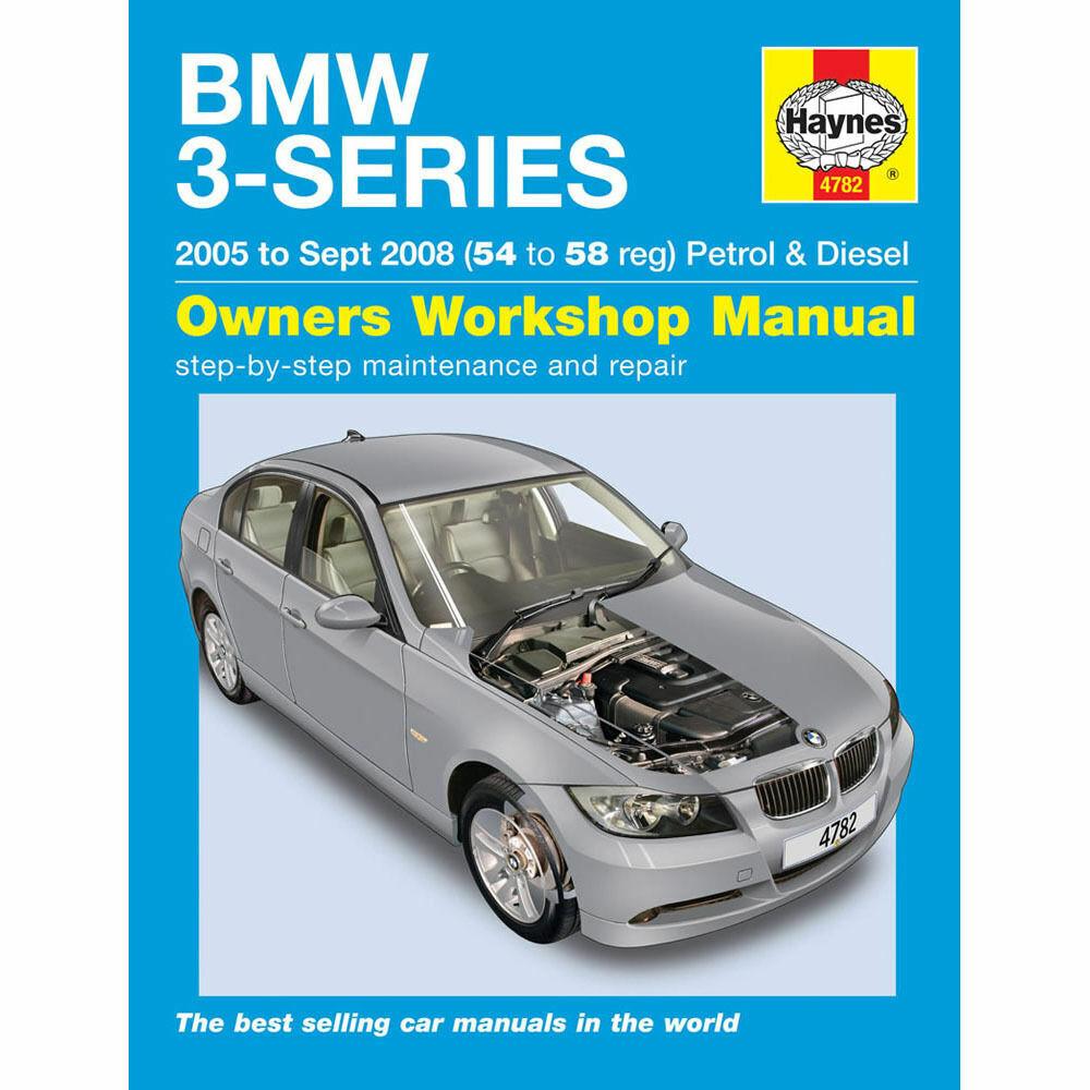 Haynes Manual BMW 3 Series 2005-08 2.0 2.5 3.0 Petrol 2.0 3.0 Diesel