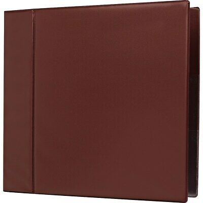 4 Staples Heavy-duty Binder With D-rings Maroon 976052