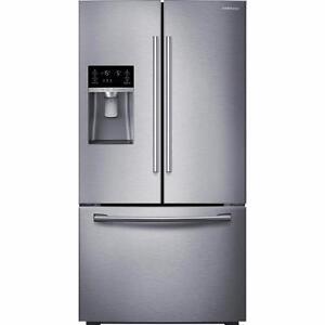 Réfrigérateur 28 pi³ Acier Inoxidable Samsung ( RF28HFEDBSR )