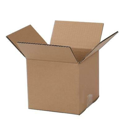100 4x4x4 Corrugated Cardboard Mailing Packing Shipping Box - 100 Boxes