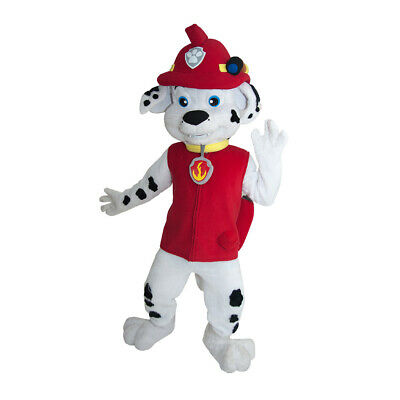 Red Dog Patrol Fire Fighter Mascot Character Costume Birthday Ideas