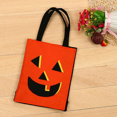 2017 Happy Halloween Babys Kids Candy Bags Handbag Bucket Children Bat Bag (Halloween Babys)