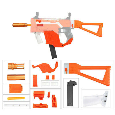 Worker Mod Kriss Vector Imitation Orange Kit Combo Items for Nerf STRYFE Toy