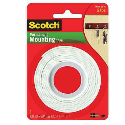 Scotch Indoor Mounting Tape Heavy Duty 1 X 50 1 Ea